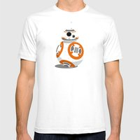The Little Droid That Co… Mens Fitted Tee White SMALL