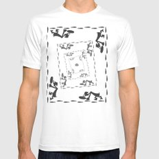 The Great Piggy Bank Robbery Mens Fitted Tee SMALL White