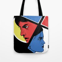 Love In 3 Colors Tote Bag