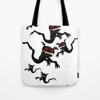 Flying Ghosties Tote Bag