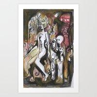 Pedestal Art Print