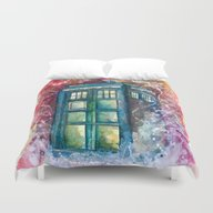 Doctor Who Tardis Duvet Cover