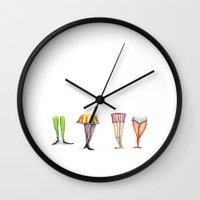 Legwork Wall Clock