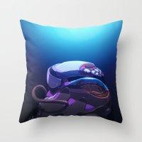 Spacing Out Throw Pillow