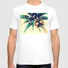 Nuevo Mens Fitted Tee SMALL White