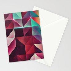 yp tri glww Stationery Cards