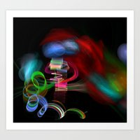 Happiness is Color Art Print