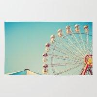 I Don't Want Love, Ferris Wheel on Blue Sky Rug