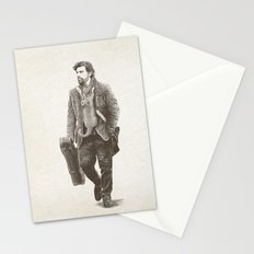 The Man Guitar Cat Stationery Cards