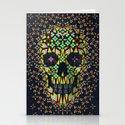 Skull 6 Stationery Cards