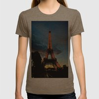 Lighting the Tower Womens Fitted Tee Tri-Coffee SMALL