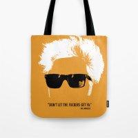 Jim Jarmusch Hair Tote Bag