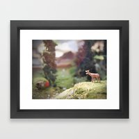 Temporary Happiness Part… Framed Art Print