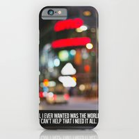 marina + the diamonds - world. iPhone 6 Slim Case