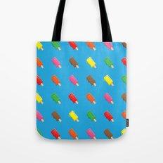 Cute Popsicle Cartoon Pattern Tote Bag
