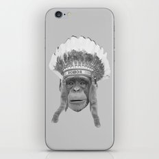 Indian Headdress Monkey iPhone & iPod Skin