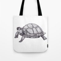 Turtle Pattern Tote Bag