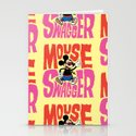 Mouse Swagger Stationery Cards