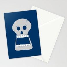 Halloween Skull Stationery Cards