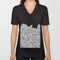 Abstraction Mountain Unisex V-Neck