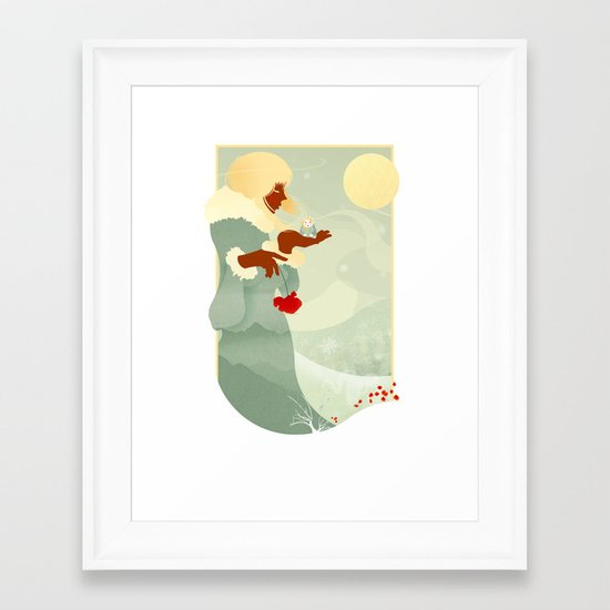 Mountain Poppies Framed Art Print