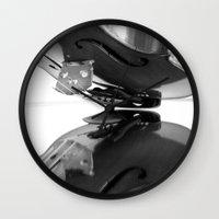 VIOLA MIRROR Wall Clock