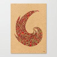 - volcano - Canvas Print
