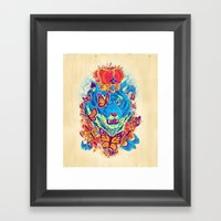 The Siberian Monarch Framed Art Print