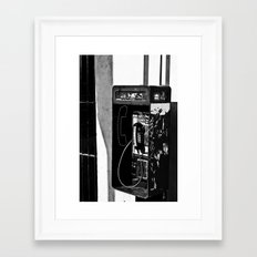 Tapped Framed Art Print