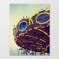 Blue Hour at the Carnival II Canvas Print