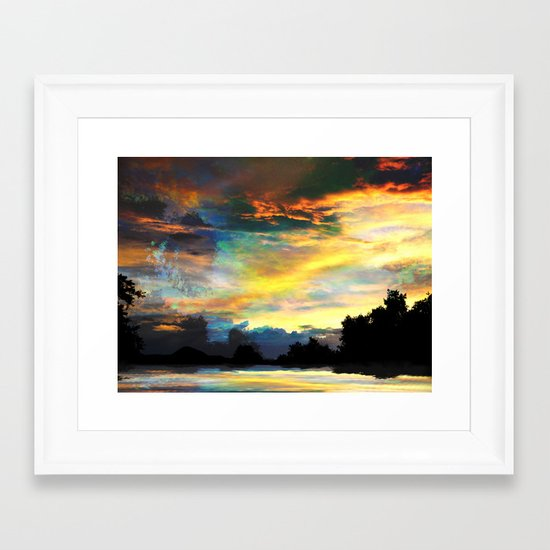 It is Only the End Framed Art Print