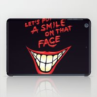 Let's Put A Smile On That Face iPad Case