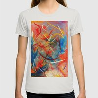 Pure Emotion Womens Fitted Tee Silver SMALL