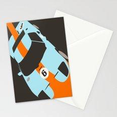 Orange Notch - Ford GT40 Race Car Stationery Cards