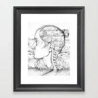 Mind Mansion Mandala For… Framed Art Print