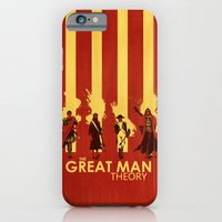 iPhone & iPod Case featuring The Great Man Theory by Alan Bao