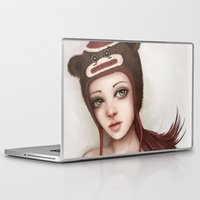 monkey Laptop & iPad Skins featuring Monkey by Stephanie W