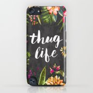 iPhone & iPod Case featuring Thug Life by Text Guy