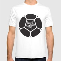 Brazil World Cup 2014 - … Mens Fitted Tee White SMALL