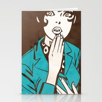 60s Girl Stationery Cards