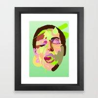 Bellucci. Framed Art Print
