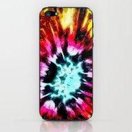 Colorful Poinsettia Abst… iPhone & iPod Skin