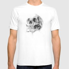 Skull 52 SMALL Mens Fitted Tee White