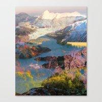 Untitled 20140417o (Landscape) Canvas Print