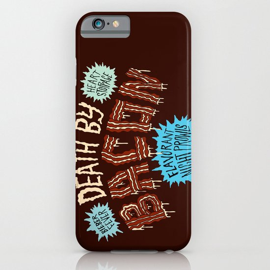 Death by Bacon iPhone & iPod Case