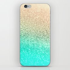 GOLD AQUA iPhone & iPod Skin