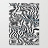 Ocean Of Lines Canvas Print