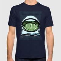 Astro Reptoid Mens Fitted Tee Navy SMALL