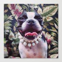 My Best Barbara Bush Loo… Canvas Print