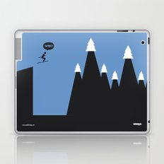 WTF? Ski Laptop & iPad Skin